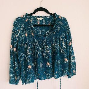 Beautiful Blue Blouse 🦋